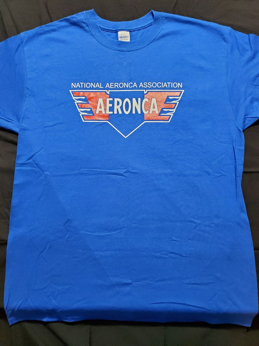 NAA/Aeronca Logo T-Shirt - Blue