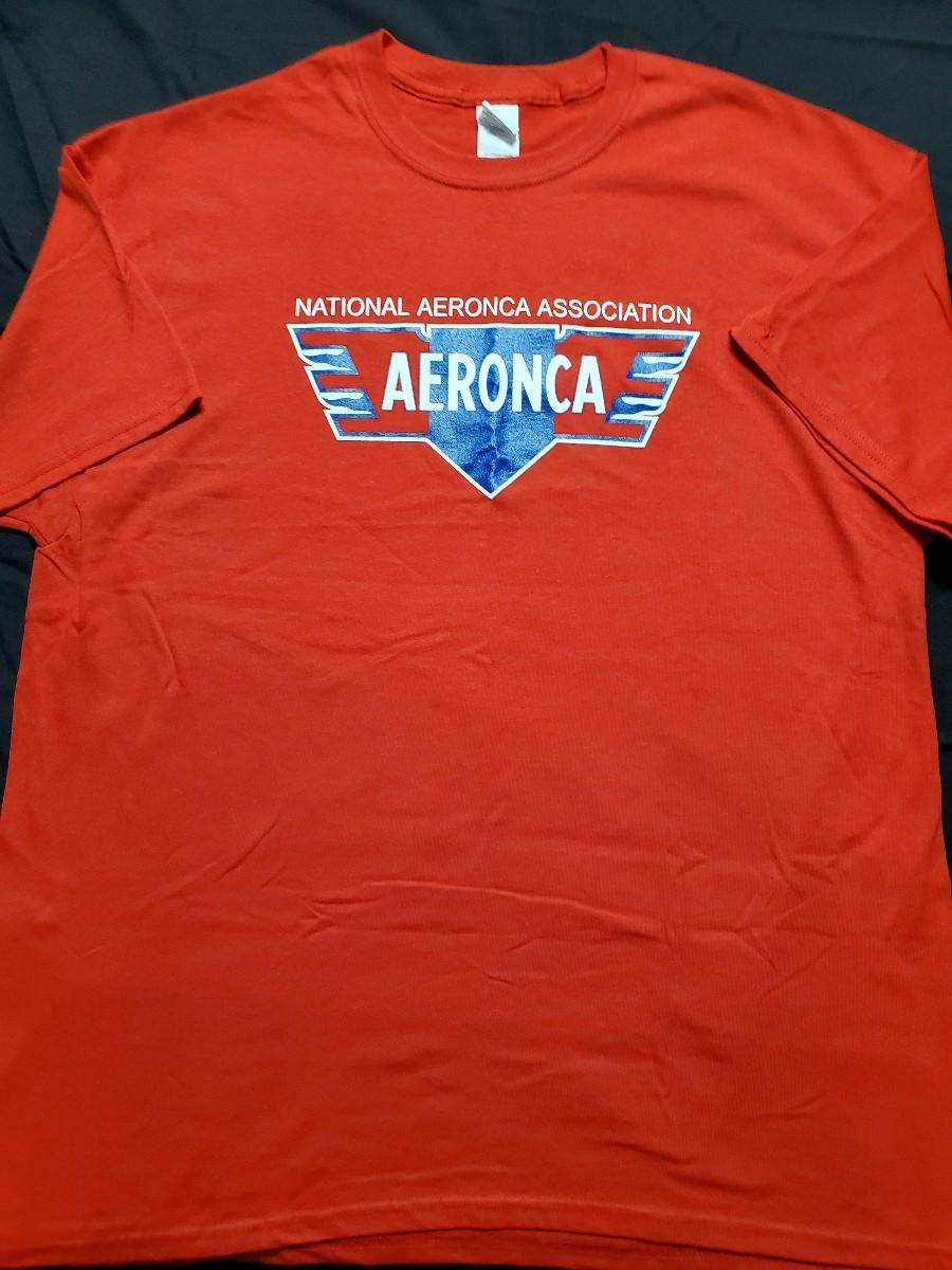 NAA/Aeronca Logo T-Shirt - Red