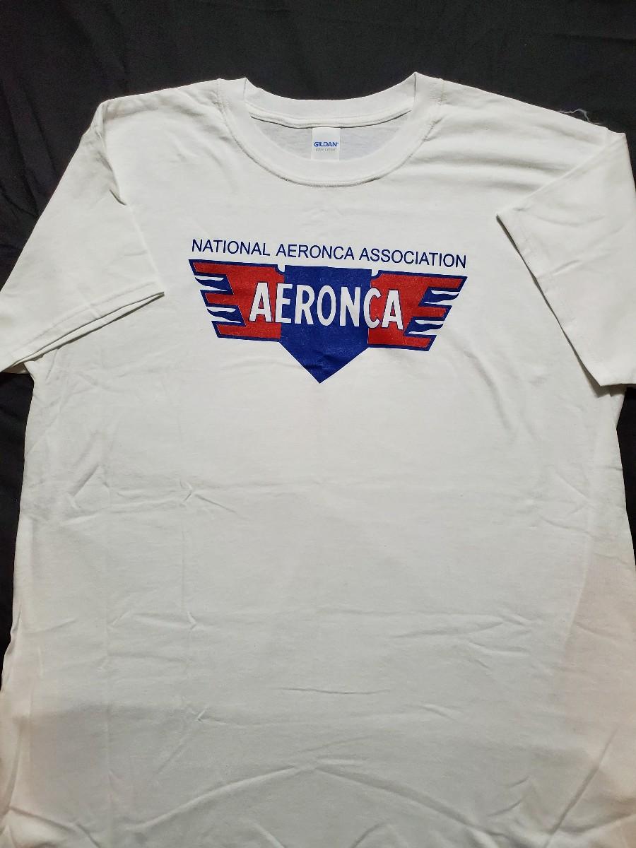 NAA/Aeronca Logo T-Shirt -White
