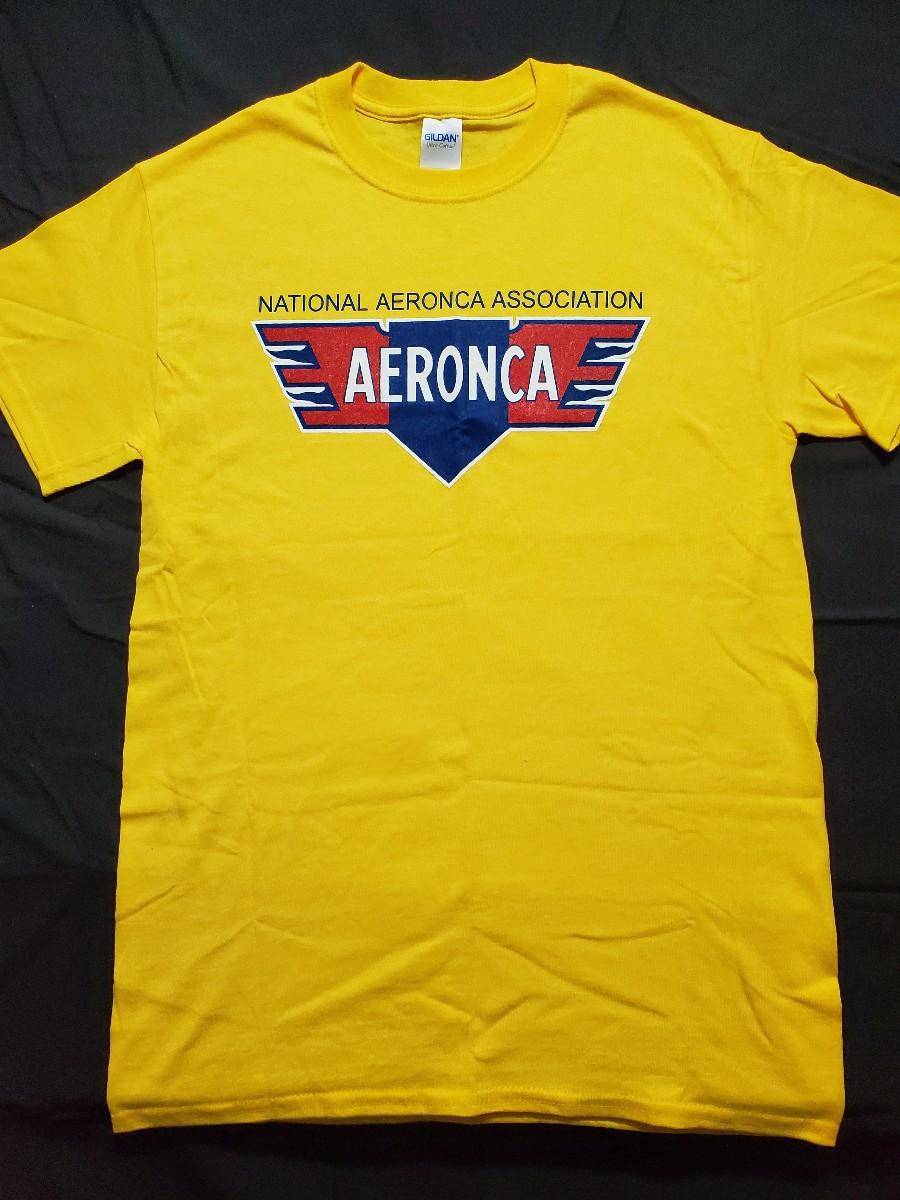 Aeronca T-Shirt Yellow