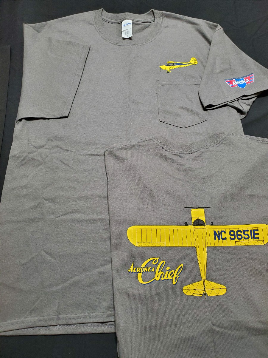 Chief Pocket T Charcoal